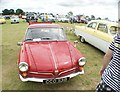 TQ5583 : View of an NSU-Sport Prinz in Havering Mind's Wings and Wheels event at Damyns Hall Aerodrome by Robert Lamb