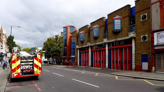 London - Islington Fire Station