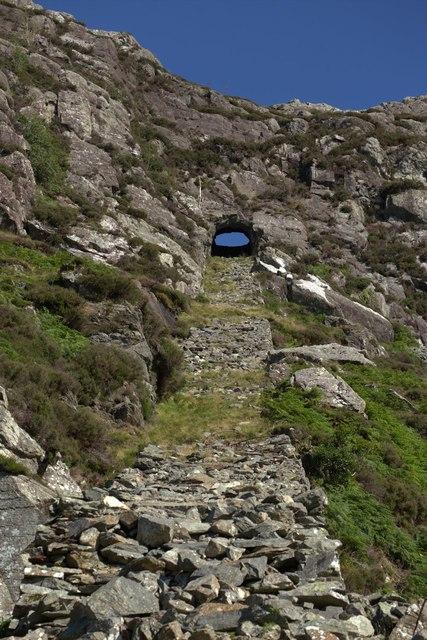 Wrysgan Quarry Incline
