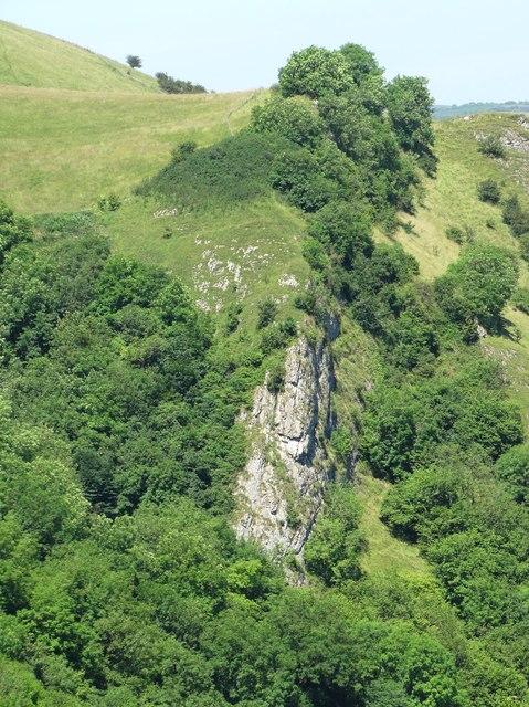 A view of Ossom's Crag