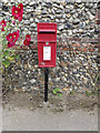 TL9877 : Ponds End Lane Postbox by Adrian Cable