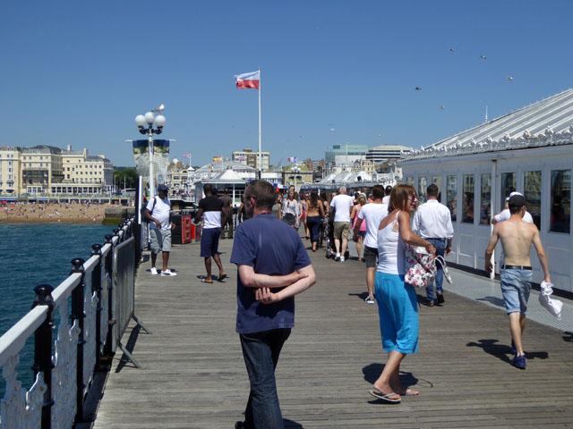 On Palace Pier, Brighton