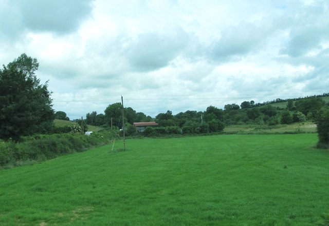 Improved grassland on the north side of the R178 at Radrumskeane