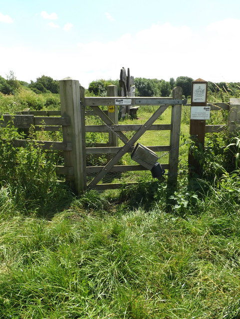Entrance to Parkers Piece