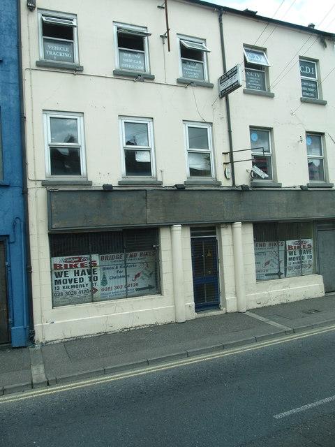 Bridge Street Stores >> Empty Stores In Bridge Street Newry C Eric Jones