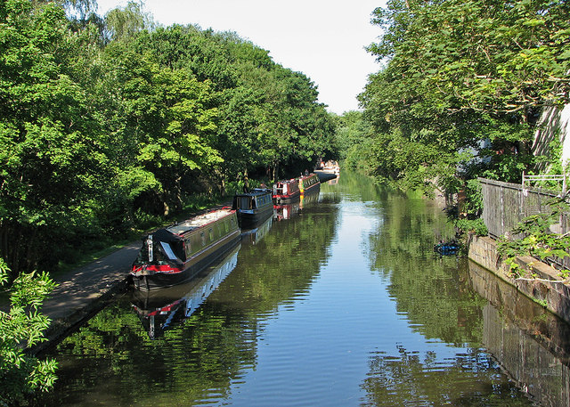 Moorings on the Nottingham Canal