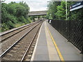 SE0344 : Steeton & Silsden railway station, Yorkshire by Nigel Thompson