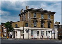 """TQ3084 : Former """"Butchers Arms"""" public house, Brewery Road/York Way by Jim Osley"""