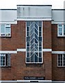 TQ2785 : Stairwell fenestration, Parliament Court by Julian Osley