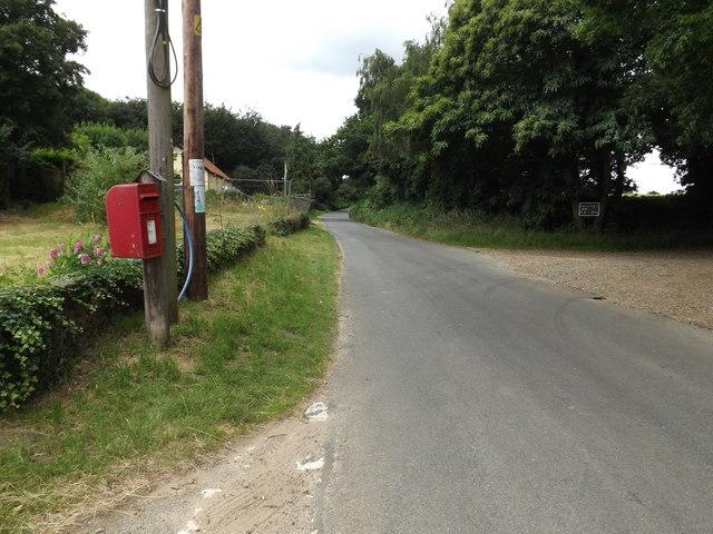 C636 Nethergate Street & Fen Street Postbox