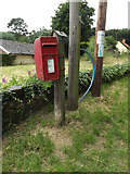 TL9879 : Fen Street Postbox by Adrian Cable