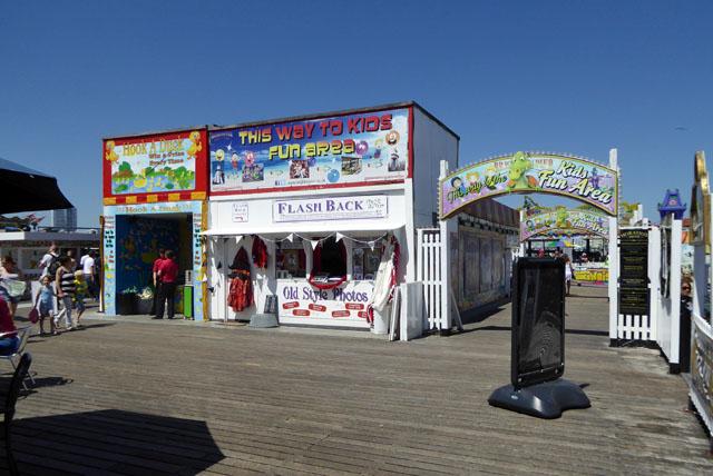 Sideshows, Brighton Palace Pier