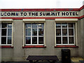 SC3987 : 'Welcome to the summit hotel' by John Lucas
