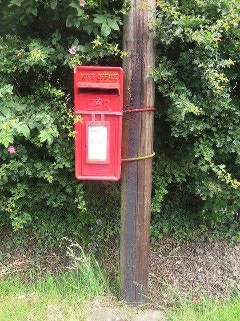 Post box in Tranwell