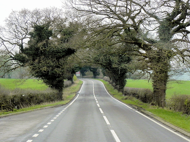 A49 near Barmere