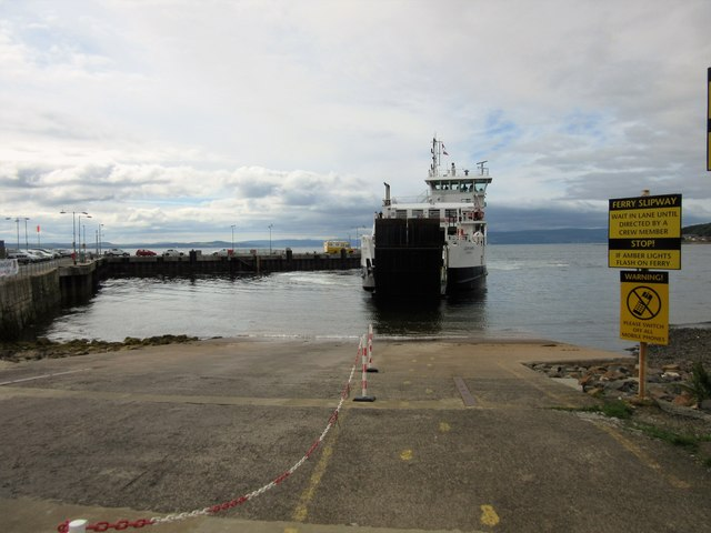 Ferry to Great Cumbrae Island, Largs by Euan Nelson