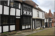 TQ9220 : Thomas House and Cobble Cottage, 15 and 16 West Street, Rye by Jo Turner