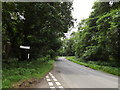TM0080 : B1111 Common Road, Blo' Norton by Adrian Cable