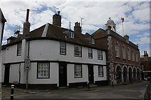 TQ9220 : 6 and 7 Market Street and The Town Hall, Rye by Jo Turner