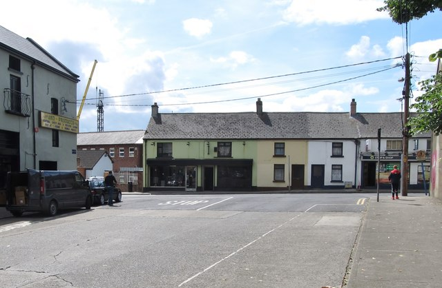 The junction of Nicholas Street and Yorke Street, Dundalk
