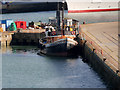 SU4210 : Steam Tug Challenge at Southampton Docks by David Dixon