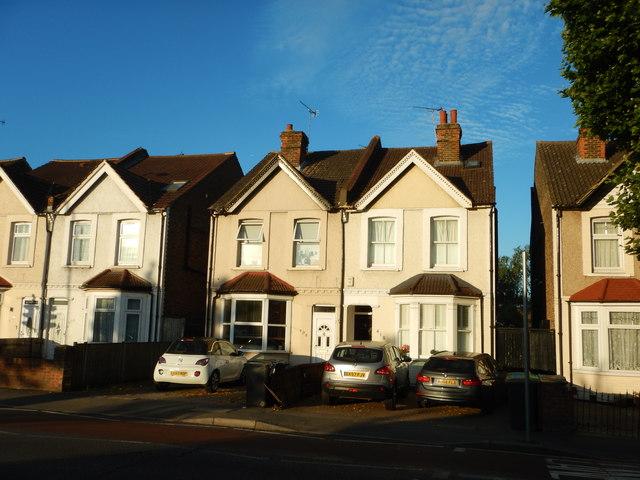 New Malden - Houses on Kingston Road