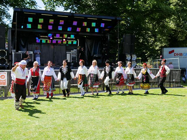 Romanian Dancers at Southampton Mela Festival