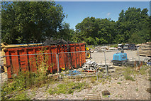 ST9897 : Storage depot at Kemble by Bill Boaden