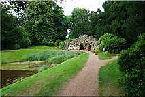 SO8744 : Grotto at Croome Park by Bill Boaden