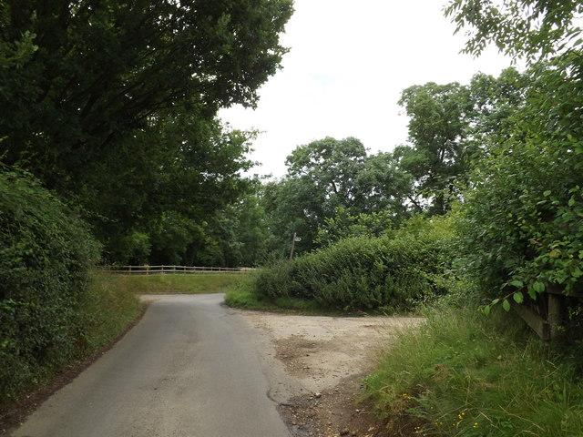 Coleman Green Lane & footpath