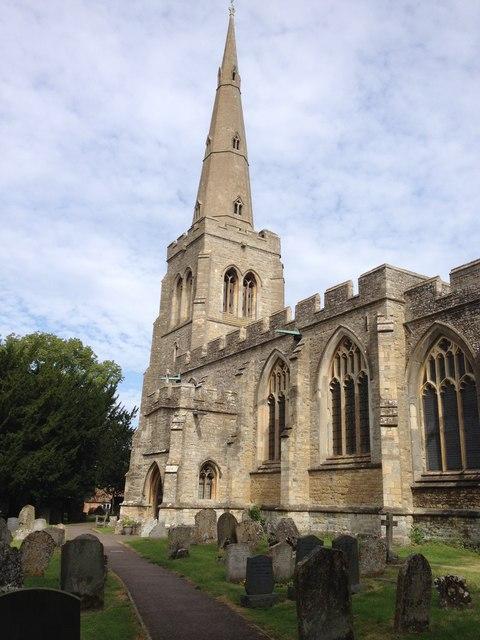 Colmworth Parish church © Dave Thompson cc-by-sa/2 0