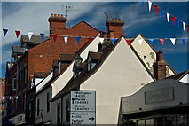 SU7682 : Roof tops on the east side of Duke Street by Roger A Smith