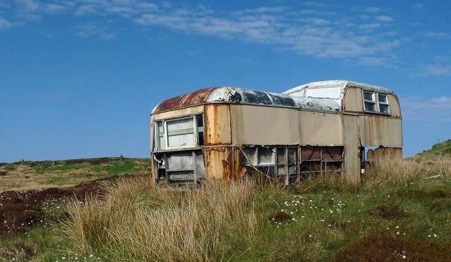 Disused shieling, Airigh A' Bhealaich, Isle of Lewis