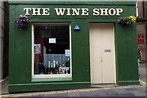HU4741 : The Wine Shop, Commercial Street, Lerwick by Mike Pennington