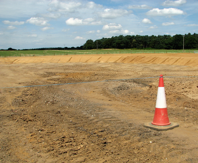 Construction of a new road junction
