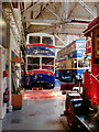 SD8400 : Trolleybus Undergoing Restoration at Greater Manchester  Museum of Transport by David Dixon