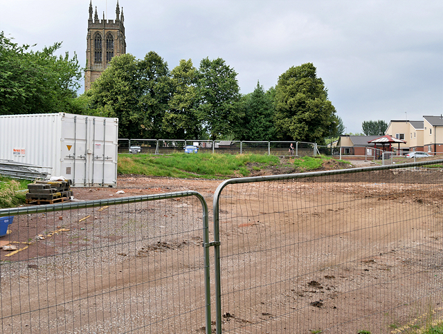Radcliffe Civic Suite Demolition Site