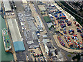 SU4011 : Southampton Docks by David Dixon