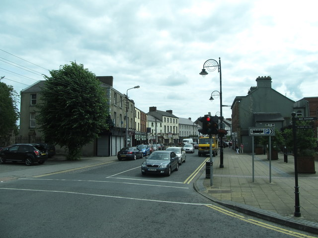 Church Street from its junction with the Laurels