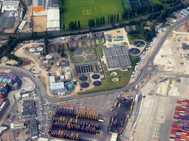 Southampton Dock Sewage Plant