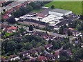SJ8587 : Aerial View of Kingsway School, Cheadle by David Dixon