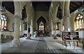 SK8333 : Interior, St James's church, Woolsthorpe by Belvoir by J.Hannan-Briggs