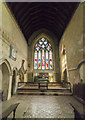 SK8333 : Chancel, St James's church, Woolsthorpe by Belvoir by J.Hannan-Briggs
