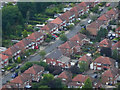 SJ8486 : Semi-Detached Houses at Heald Green by David Dixon