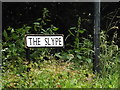 TL1716 : The Slype sign by Adrian Cable