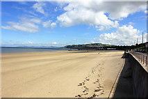 SH8479 : The Beach at Colwyn Bay by Jeff Buck