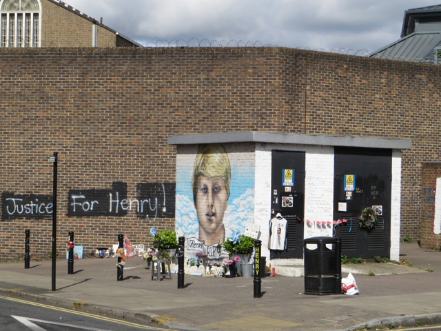 Mural/protest, Pentonville