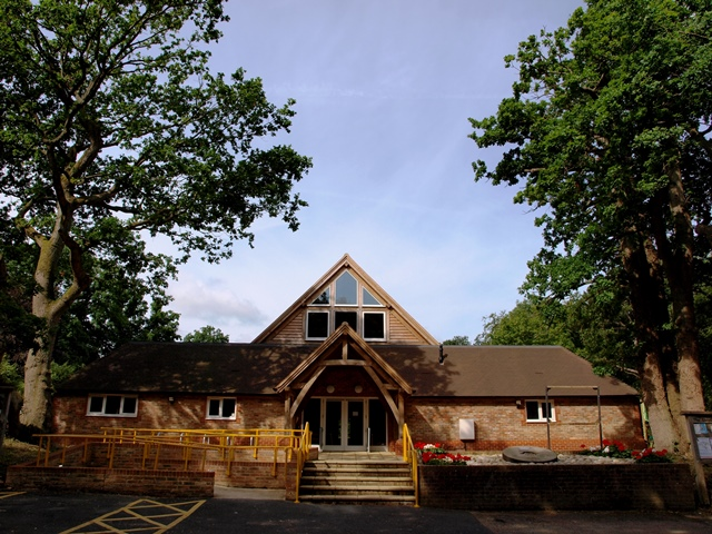 The newly restored and extended Outwood Village Hall