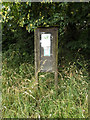 TM0479 : South Lopham Village Notice Board by Adrian Cable