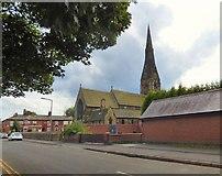 SJ8889 : St Matthew's Church, Edgeley by Gerald England